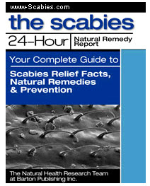 Scabies 24 Hour Natural Remedy Protocol